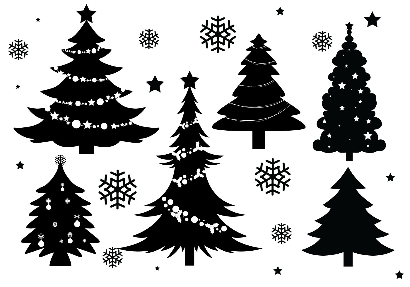 Vector Christmas Tree.Christmas Vector Art At Getdrawings Com Free For Personal