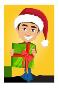 198x300 Very Merry Free Christmas Vectors Graphicmama Blog