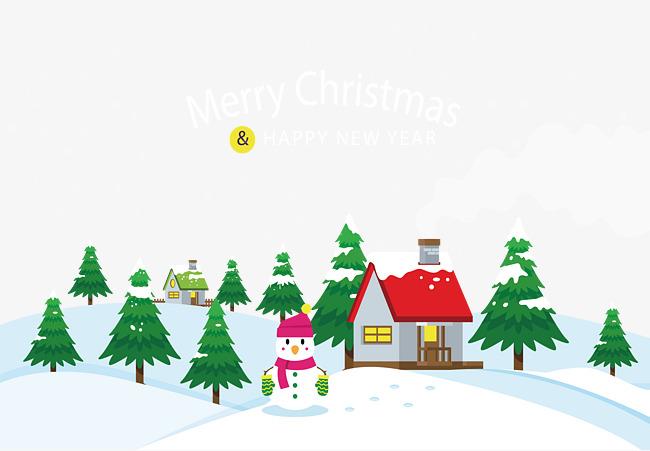 650x451 White Christmas, Christmas Vector, Vector Png, Christmas Png And