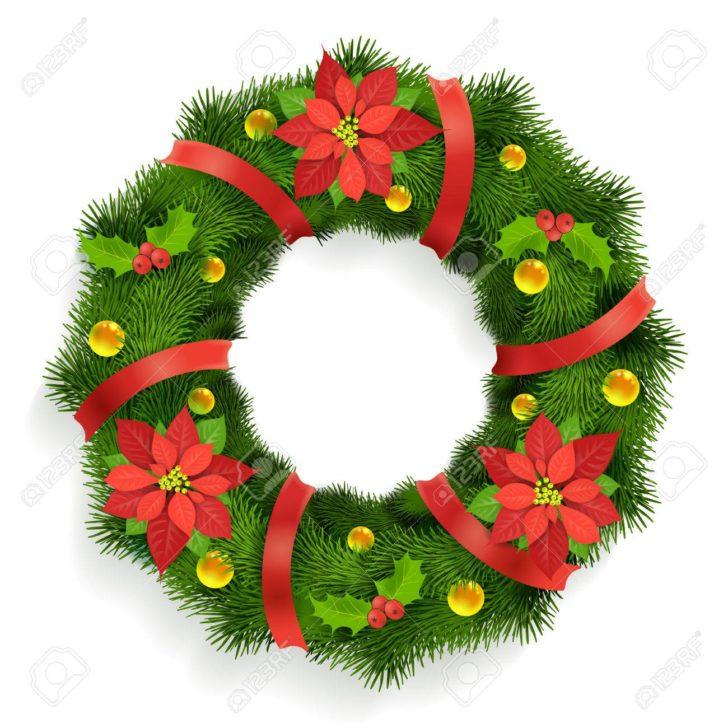 728x728 Christmas Astonishing Christmas Wreath Vector Christmas Wreath