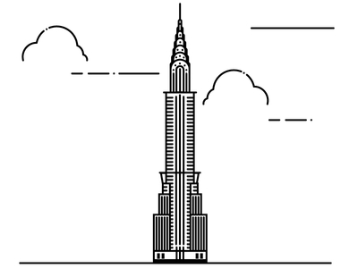 Chrysler Building Vector