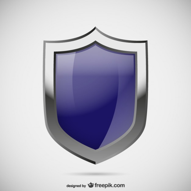 626x626 Blue Security Logo Vector Free Download