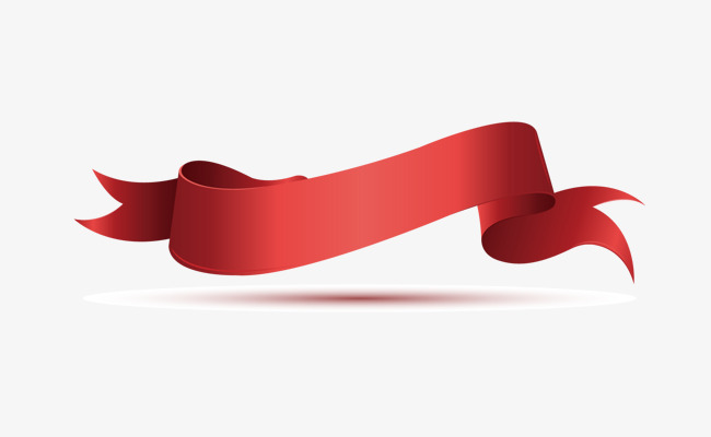 650x400 Red Ribbon Border, Red Border, Vector Border, Frame Png And Vector