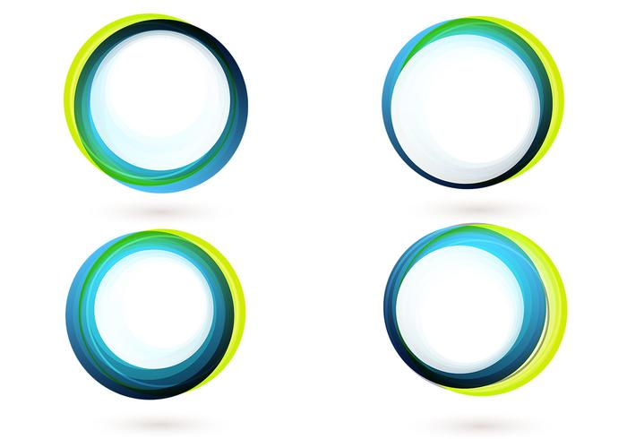 700x490 Colorful Circle Banner Vector Pack