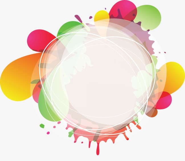 650x566 Fashion Colorful Background And Circle, Banner Background, Pattern