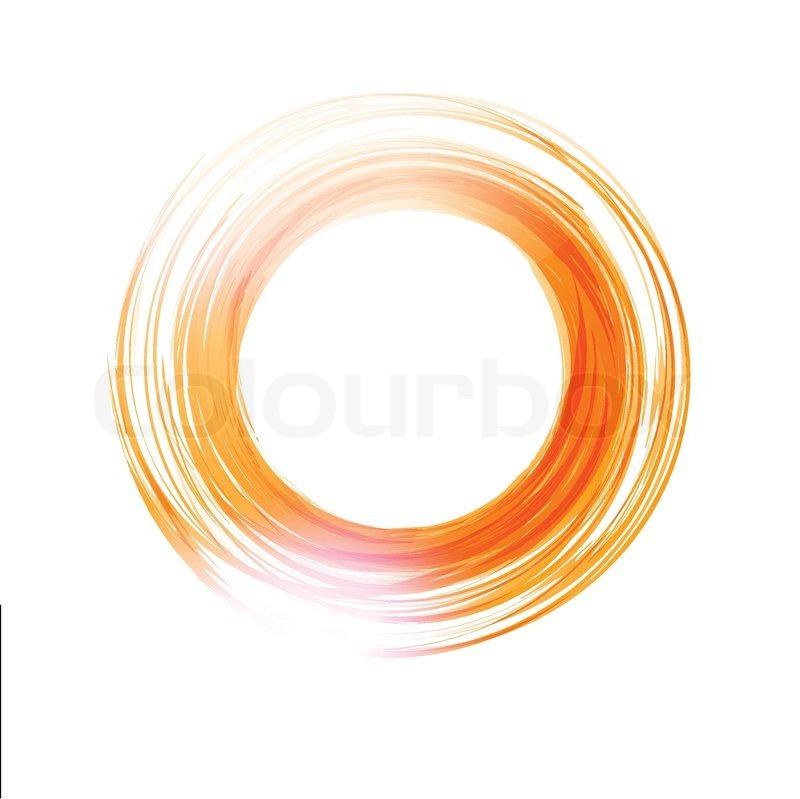 800x799 Vector Abstract Circle. Banner, Flyer Or Logo Design Template