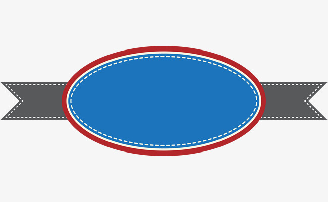 650x400 Blue Circle Banner, Circle Clipart, Banner Clipart, Blue Png Image