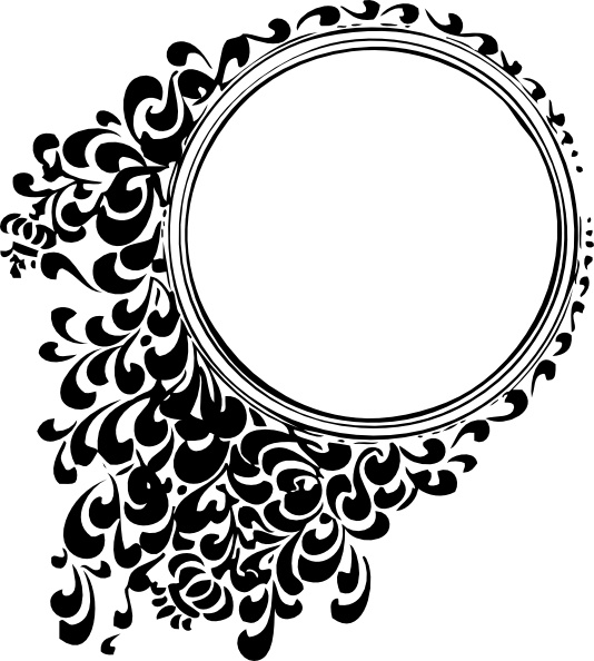 534x594 Filigree Circle Clip Art Free Vector In Open Office Drawing Svg