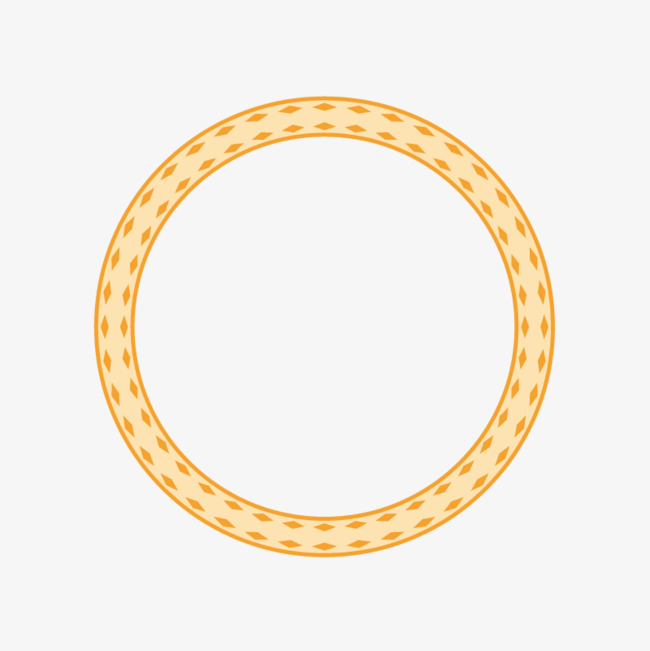 650x651 Orange Circle Border, Orange Vector, Circle Vector, Border Vector