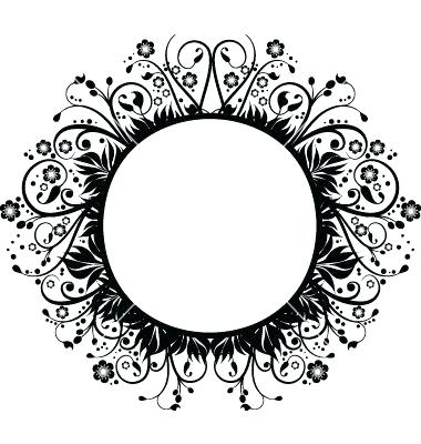 380x400 Circle Border Design Circle Border Circle Border Design Vector