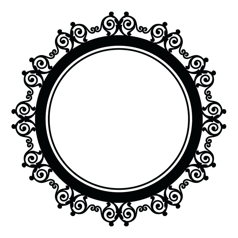 800x800 Circle Border Design Circle Border Circle Border Design Vector