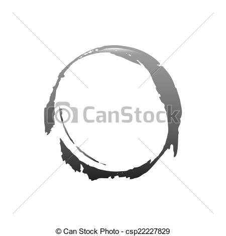 450x470 Circle Design . Circle Graphic Design , Vector Illustration.