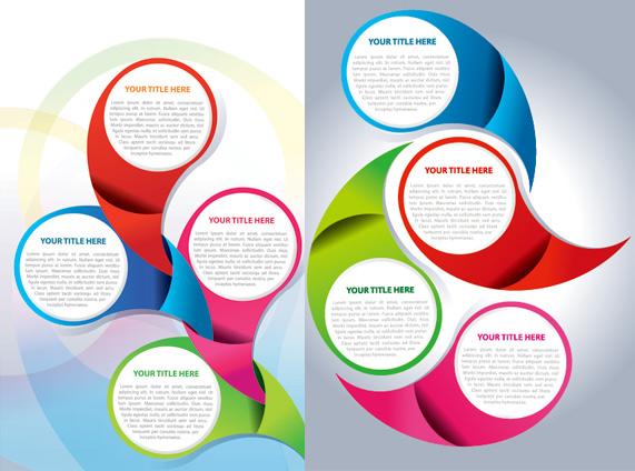 571x424 Circular Background Design 1 Vector Free Download