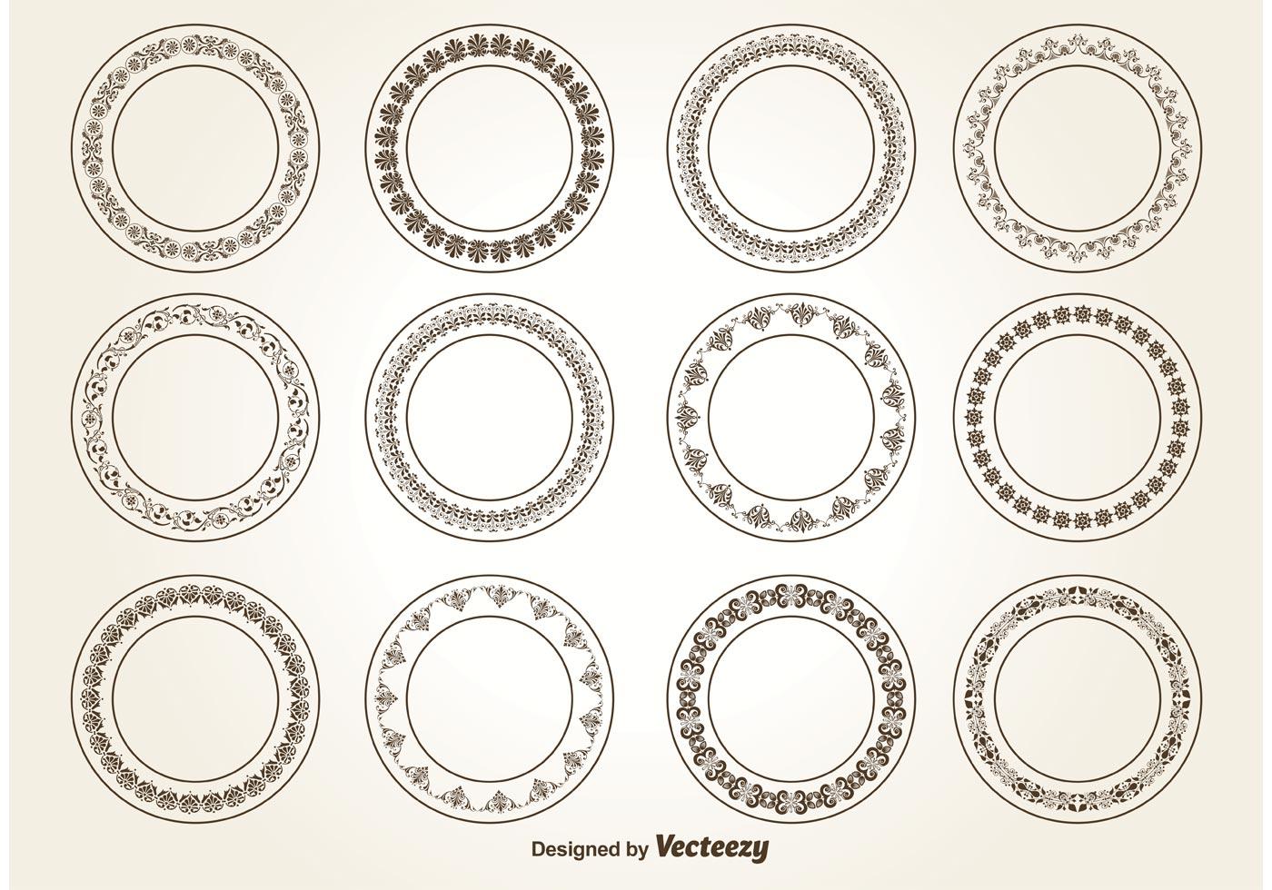 1400x980 Decorative Circle Ornaments