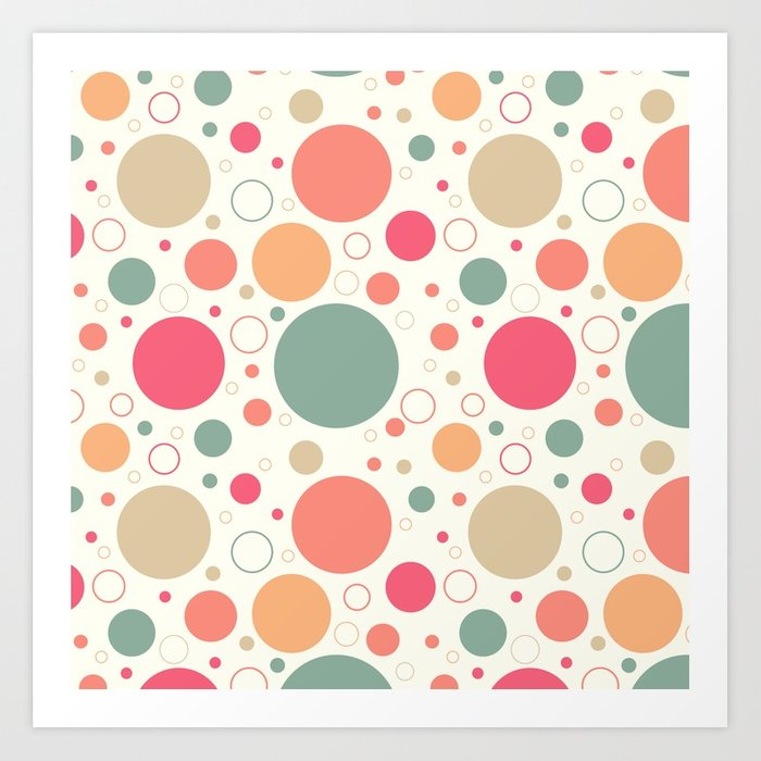 700x700 Retro Circle Pattern Wallpaper Ornament Vector Illustration