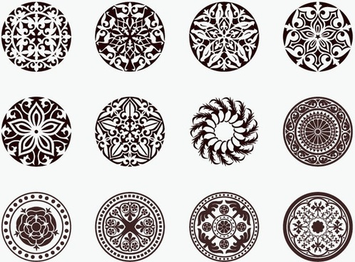498x368 Circle Ornament Free Vector Download (16,791 Free Vector) For