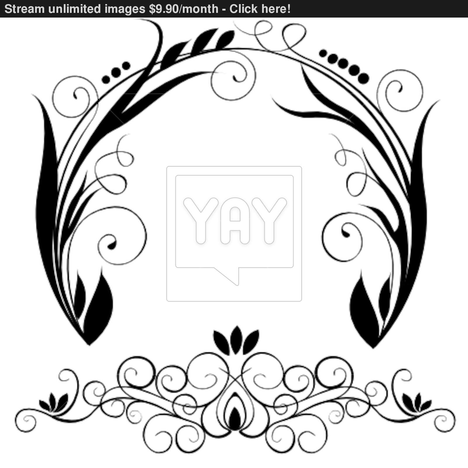 1600x1600 Circle Ornament Vector Vector