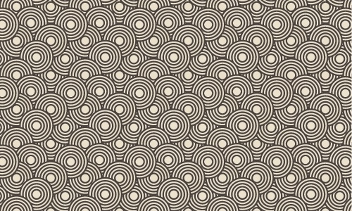 500x300 Crazy Circles Free Seamless Pattern Free Vector In Adobe