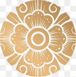 260x261 Golden Circular Pattern Png Images Vectors And Psd Files Free