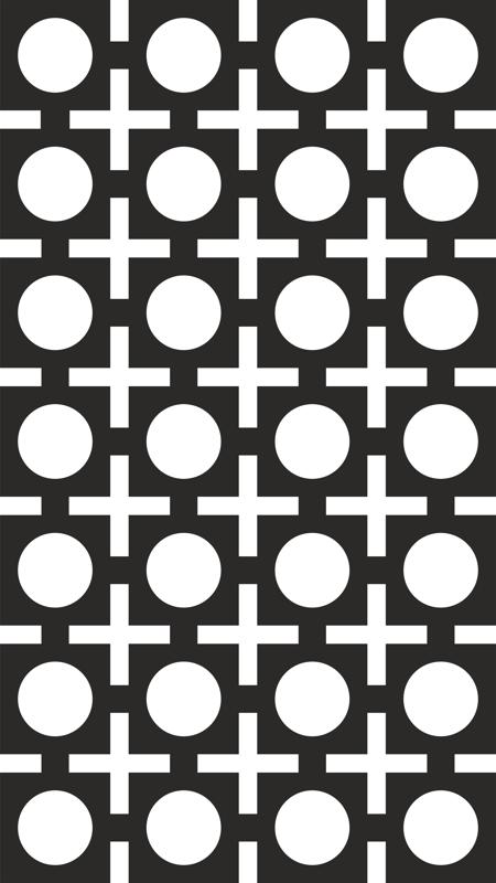 450x800 Seamless Square Circle Pattern Vector Free Vector Download