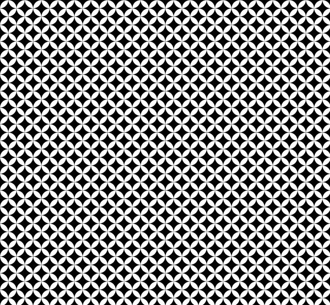 650x600 Abstract Circle Dither Free Seamless Vector Pattern Vector Patterns
