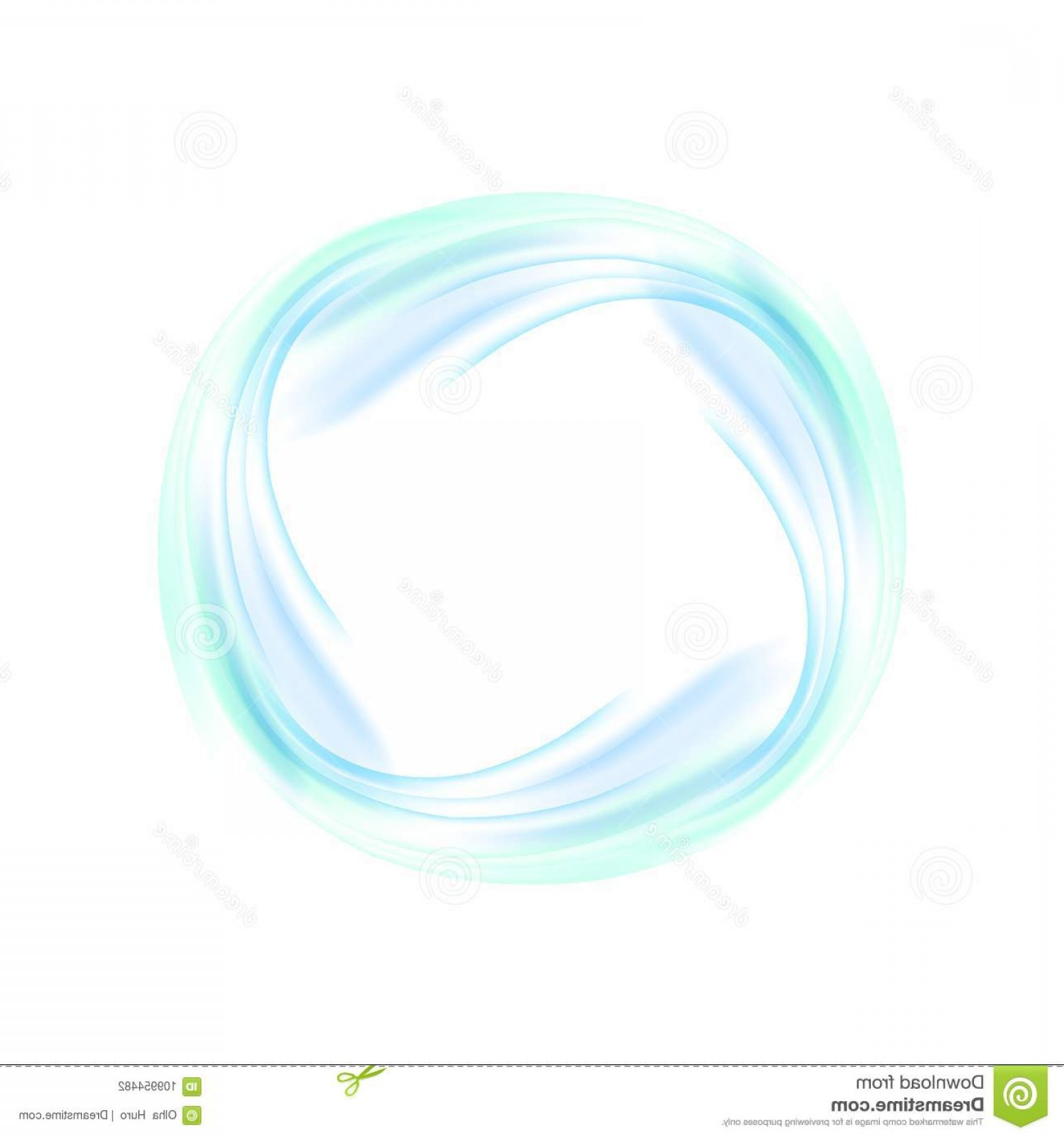Circle Swirl Vector