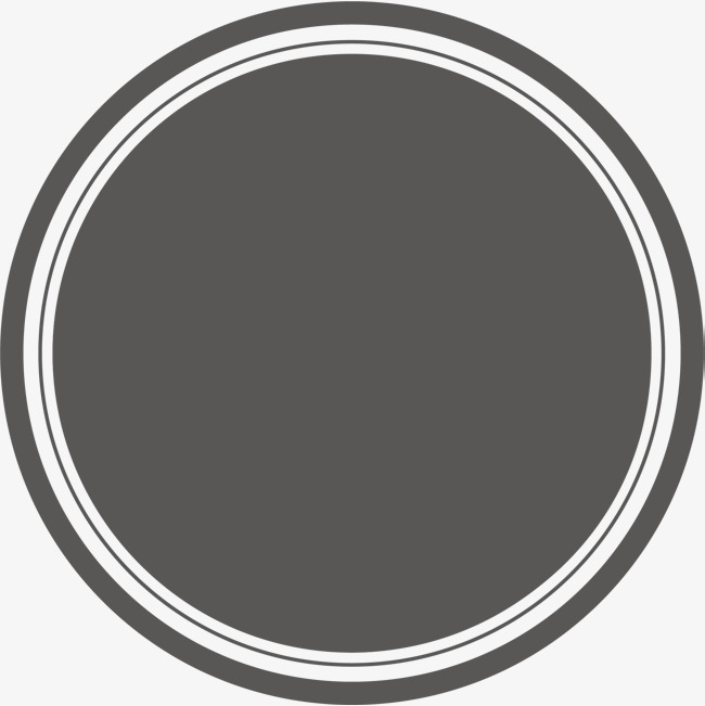 650x651 Black Circle, Round Material, Circle, Pretty Circle Png And Vector