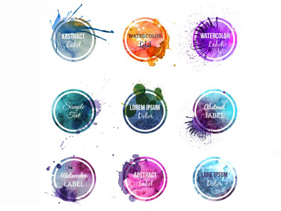910x683 Free Watercolors Backgrounds, Patterns, Objects, Logos Graphicmama