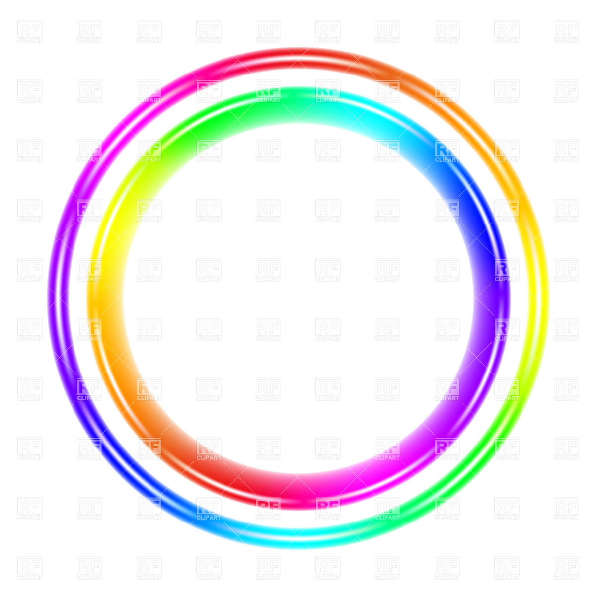 1200x1200 Color Wheel Spectrum Circle Vector Image Vector Artwork Of