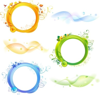 387x368 Leaf Circle Free Vector Download (8,946 Free Vector) For