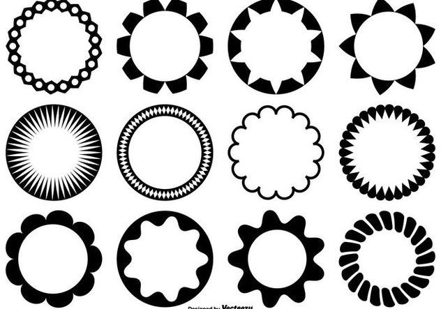 632x443 Circle Vector Shapes Free Vector Download 362121 Cannypic