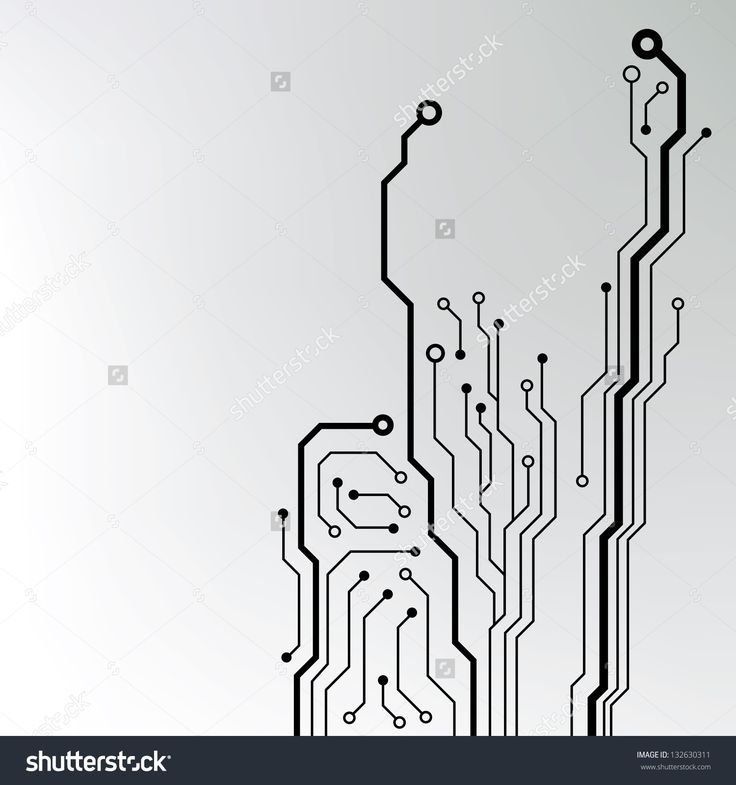 736x785 Circuit Board Pattern. Abstract Technology Circuit Board Vector
