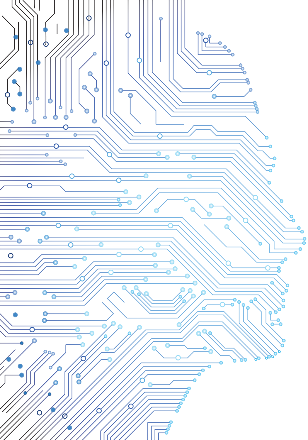 Circuit Board Vector At Free For Personal Use Photo Of Abstract Blue Background With High Tech 1051x1500 Collection Download On Ubisafe