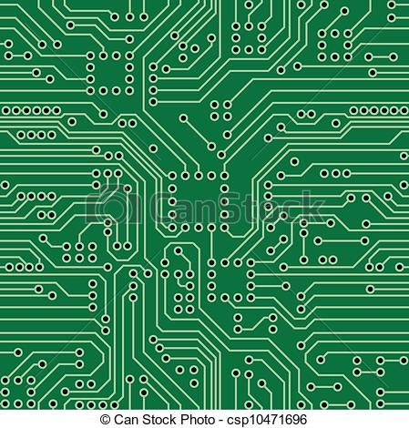 449x470 Circuit Board Vector Clipart Royalty Free. 4,147 Circuit Board