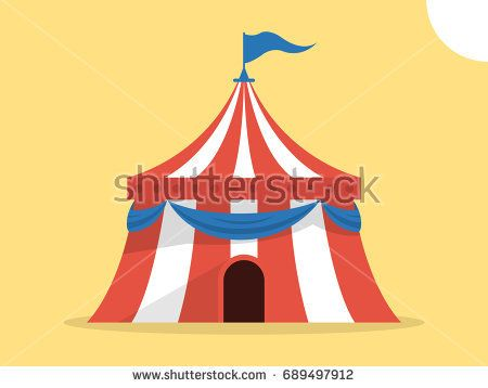 450x358 Circus Tent Vector Illustration Gallery
