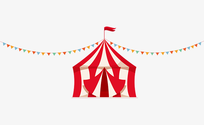 650x400 Cute Circus Tent Vector, Fun, Vector, Lovely Png And Vector For