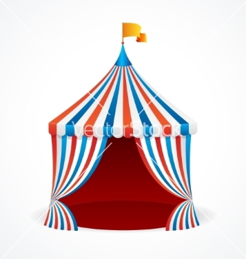 357x376 Free Circus Tent Vector Free Vector Download 214039 Cannypic