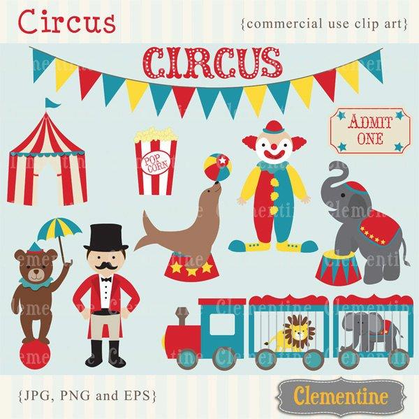 600x600 Circus Clip Art Images Circus Clipart Circus Vector Etsy
