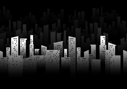 500x353 Creative City Vector Backgrounds 05 Free Download