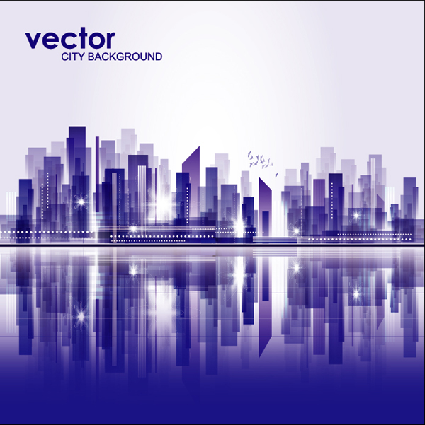 600x601 Abstract City Background Vector 3 Eps Format Free Vector