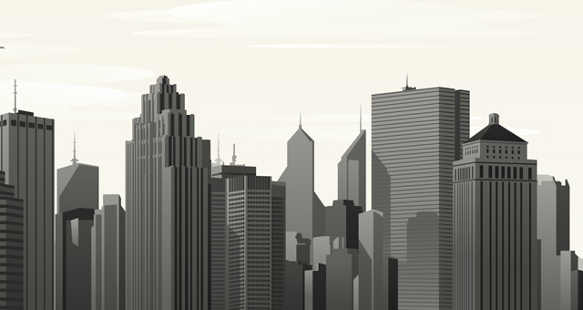 640x340 Images Of City Background Vector
