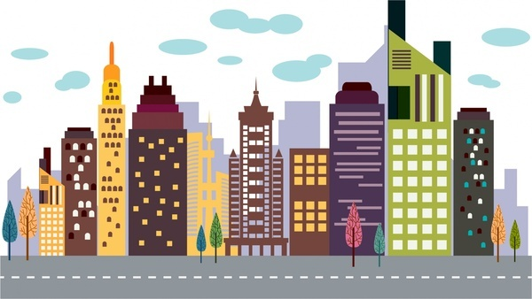 600x338 Building Free Vector Download (1,739 Free Vector) For Commercial
