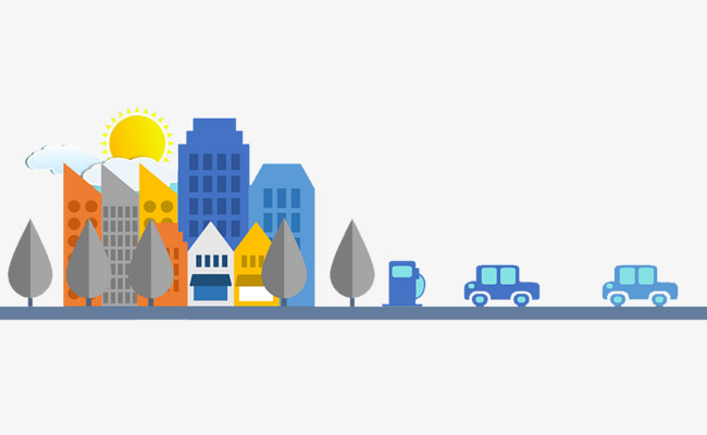 650x400 City Illustration, City Vector, Business, Ppt Png And Vector For