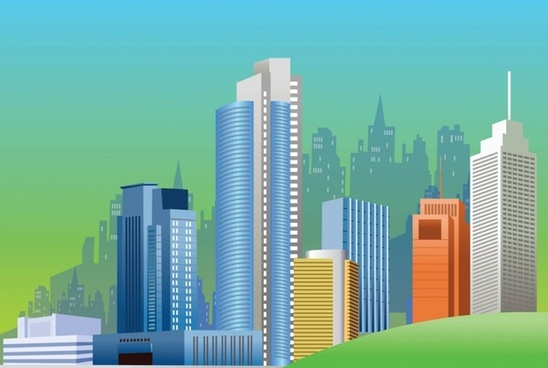 548x368 City Free Vector Download (1,309 Free Vector) For Commercial Use