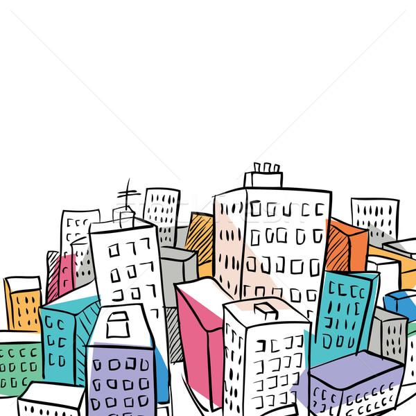 600x600 City Illustration 2 Vector Illustration Radovan Marcek (Radoma