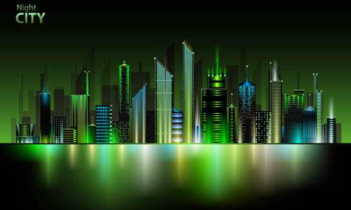 500x299 City Landscape Vector Free Vector Download (2,546 Free Vector) For