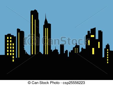 450x340 City Skyline