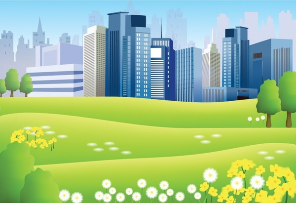 600x411 Cities Clipart