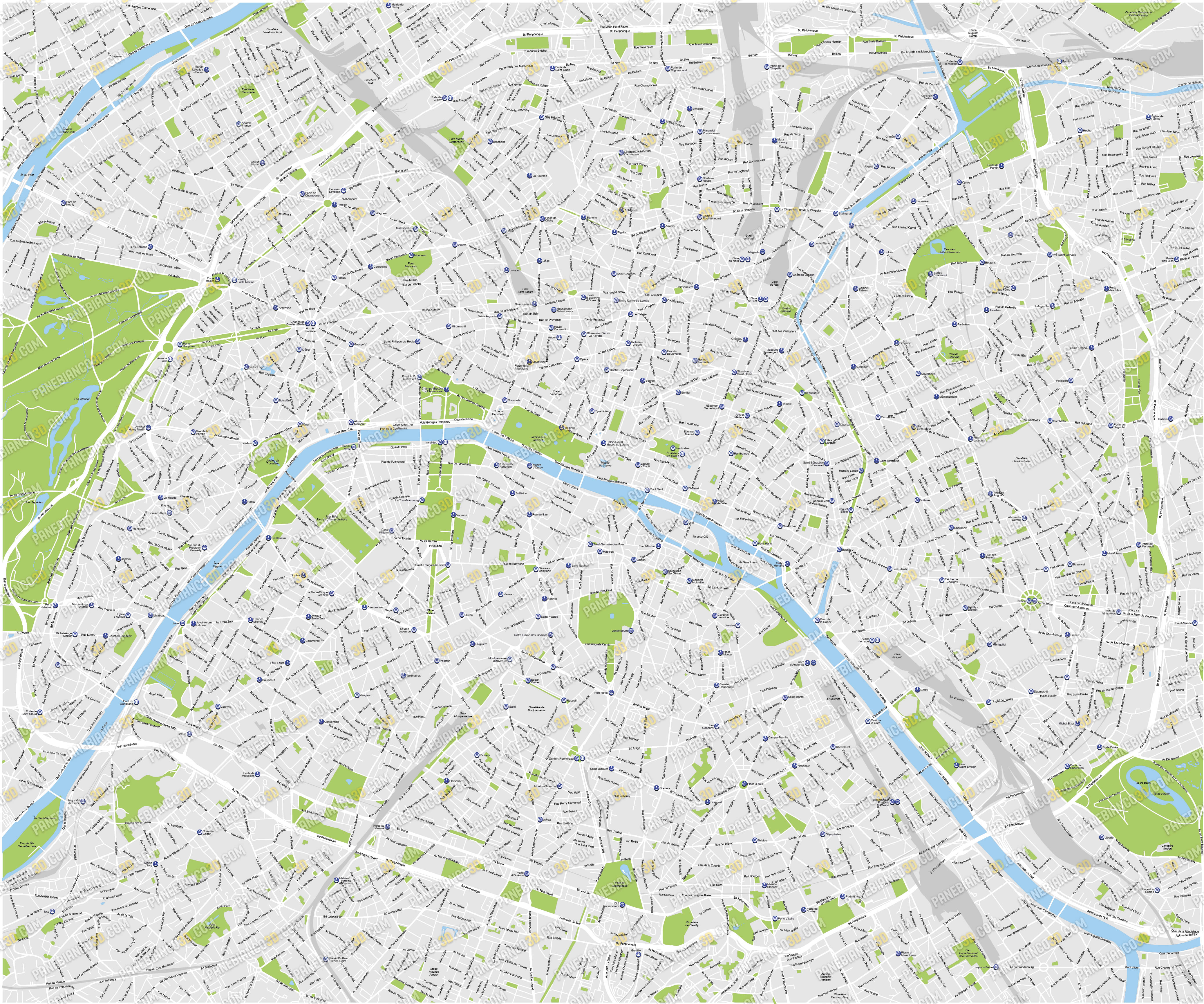 4150x3459 New Maps Of Berlin And Paris Info And Download