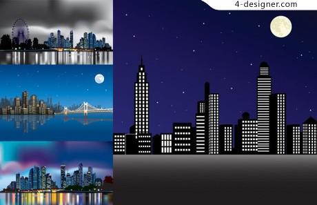 City Night Vector